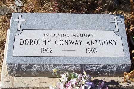 ANTHONY, DOROTHY - Gila County, Arizona | DOROTHY ANTHONY - Arizona Gravestone Photos