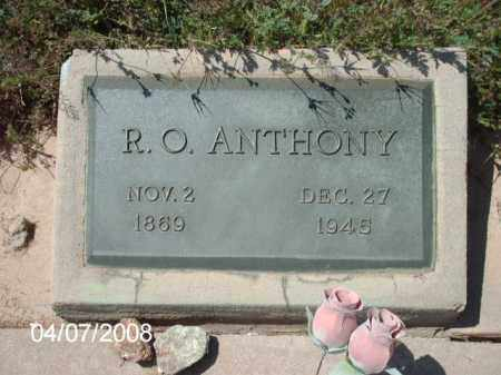 ANTHONY, R. O. - Gila County, Arizona | R. O. ANTHONY - Arizona Gravestone Photos