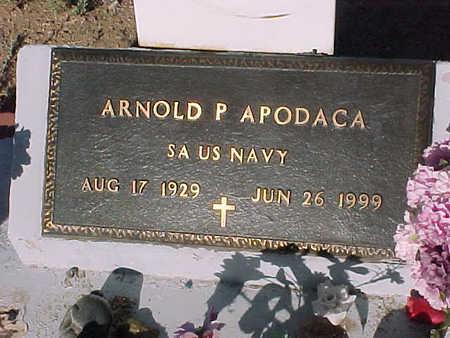 APODACA, ARNOLD P. - Gila County, Arizona | ARNOLD P. APODACA - Arizona Gravestone Photos