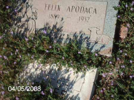 APODACA, FELIX - Gila County, Arizona   FELIX APODACA - Arizona Gravestone Photos