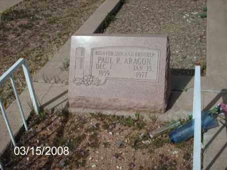 ARAGON, PAUL - Gila County, Arizona   PAUL ARAGON - Arizona Gravestone Photos