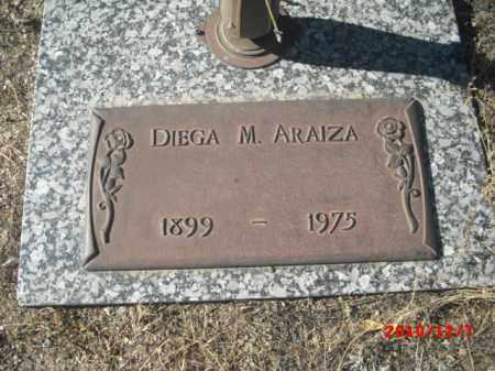 ARAIZA, DIEGA M. - Gila County, Arizona | DIEGA M. ARAIZA - Arizona Gravestone Photos