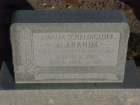 ARANDA, AMALIA - Gila County, Arizona | AMALIA ARANDA - Arizona Gravestone Photos