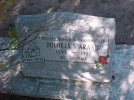 ARANDA, DOLORES S. - Gila County, Arizona   DOLORES S. ARANDA - Arizona Gravestone Photos