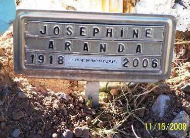 ARANDA, JOSEPHINA  M. - Gila County, Arizona | JOSEPHINA  M. ARANDA - Arizona Gravestone Photos