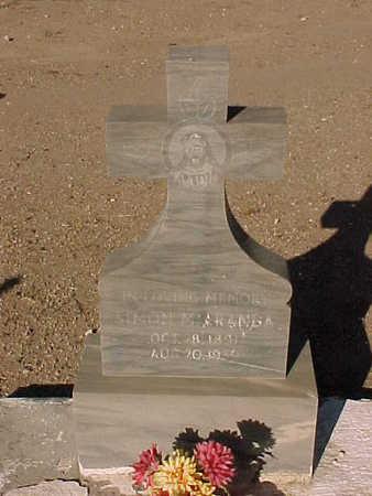 ARANDA, SIMON  M. - Gila County, Arizona   SIMON  M. ARANDA - Arizona Gravestone Photos