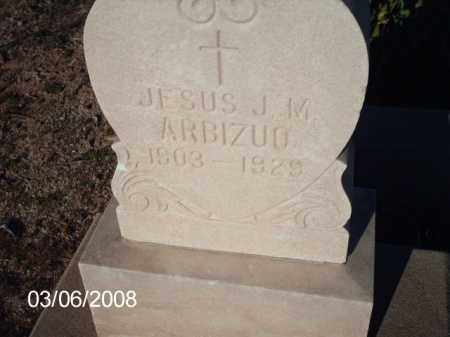 ARBIZUO, JESUS - Gila County, Arizona | JESUS ARBIZUO - Arizona Gravestone Photos