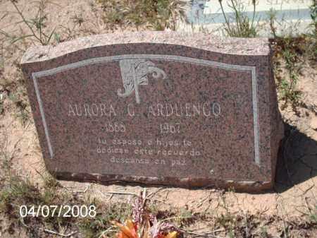 ARDUENCO, AURORA - Gila County, Arizona | AURORA ARDUENCO - Arizona Gravestone Photos