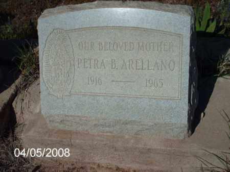 ARELLANO, PETRA B. - Gila County, Arizona | PETRA B. ARELLANO - Arizona Gravestone Photos