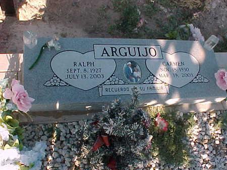ARGUIJO, RALPH - Gila County, Arizona | RALPH ARGUIJO - Arizona Gravestone Photos