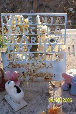ARIAS, VIRGINIA - Gila County, Arizona | VIRGINIA ARIAS - Arizona Gravestone Photos
