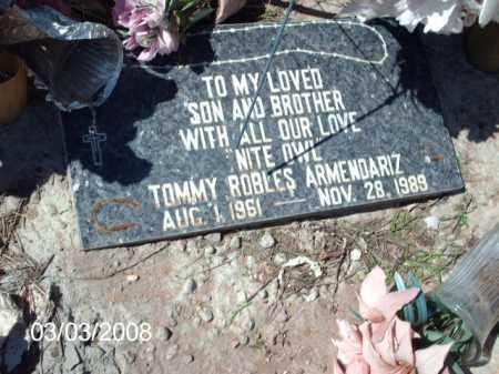 ARMENDARIZ, TOMMY - Gila County, Arizona   TOMMY ARMENDARIZ - Arizona Gravestone Photos