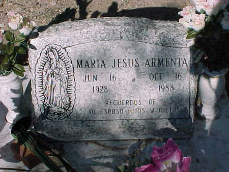 ARMENTA, MARIA JESUS - Gila County, Arizona | MARIA JESUS ARMENTA - Arizona Gravestone Photos
