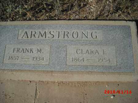 ARMSTRONG, CLARA  L. - Gila County, Arizona | CLARA  L. ARMSTRONG - Arizona Gravestone Photos