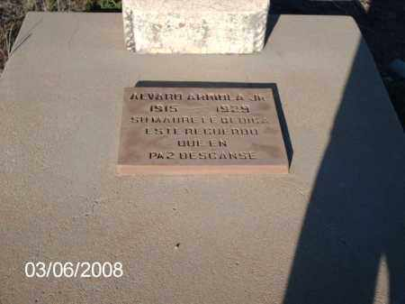 ARRIOLA, ALVARO - Gila County, Arizona | ALVARO ARRIOLA - Arizona Gravestone Photos