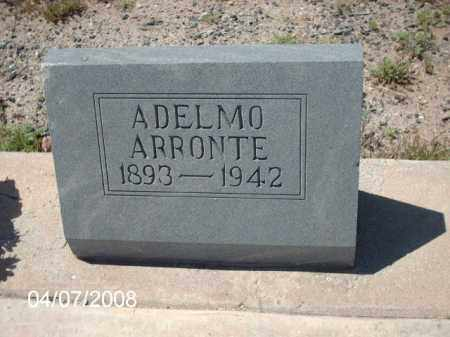 ARRONTE, ADELMO - Gila County, Arizona | ADELMO ARRONTE - Arizona Gravestone Photos