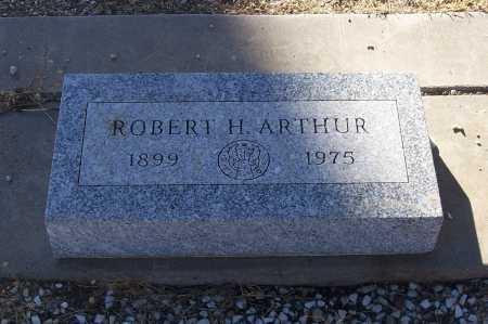 ARTHUR, ROBERT H. - Gila County, Arizona | ROBERT H. ARTHUR - Arizona Gravestone Photos