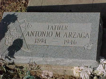 ARZAGA, ANTONIO  M. - Gila County, Arizona   ANTONIO  M. ARZAGA - Arizona Gravestone Photos