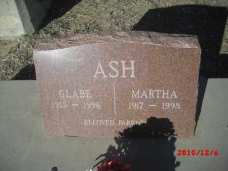 ASH, MARTHA - Gila County, Arizona | MARTHA ASH - Arizona Gravestone Photos