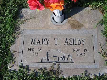 ASHBY, MARY T - Gila County, Arizona | MARY T ASHBY - Arizona Gravestone Photos