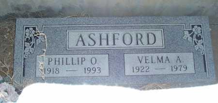 ASHFORD, VELMA A. - Gila County, Arizona | VELMA A. ASHFORD - Arizona Gravestone Photos