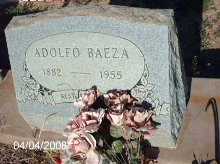 BAEZA, ADOLFO - Gila County, Arizona | ADOLFO BAEZA - Arizona Gravestone Photos