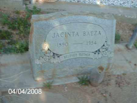 BAEZA, JACINTA - Gila County, Arizona | JACINTA BAEZA - Arizona Gravestone Photos