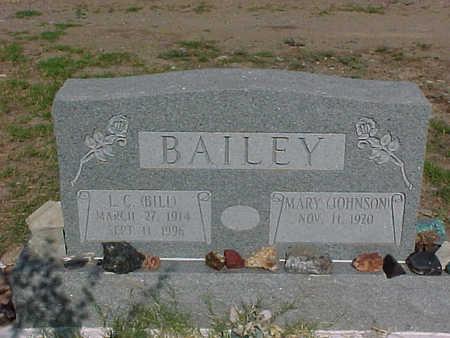BAILEY, MARY - Gila County, Arizona   MARY BAILEY - Arizona Gravestone Photos