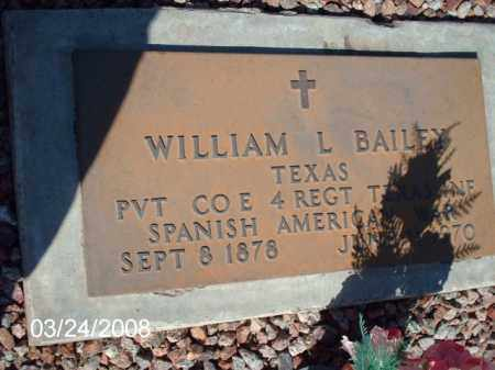 BAILEY, WILLIAM - Gila County, Arizona | WILLIAM BAILEY - Arizona Gravestone Photos