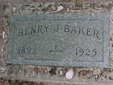 BAKER, HENRY  J. - Gila County, Arizona   HENRY  J. BAKER - Arizona Gravestone Photos