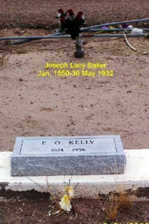 BAKER, JOSEPH LACY - Gila County, Arizona | JOSEPH LACY BAKER - Arizona Gravestone Photos