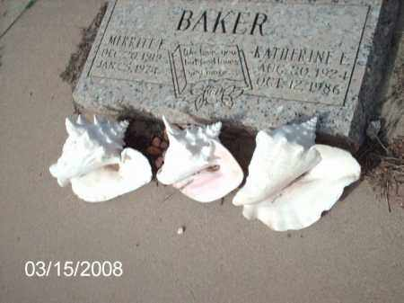 BAKER, MIRRITT - Gila County, Arizona   MIRRITT BAKER - Arizona Gravestone Photos