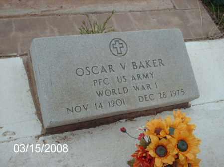 BAKER, OSCAR - Gila County, Arizona   OSCAR BAKER - Arizona Gravestone Photos