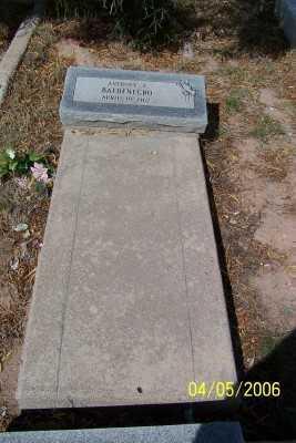 BALDENEGRO, ANTHONY C. - Gila County, Arizona   ANTHONY C. BALDENEGRO - Arizona Gravestone Photos