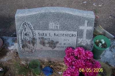 BALDENEGRO, SARA L. - Gila County, Arizona | SARA L. BALDENEGRO - Arizona Gravestone Photos
