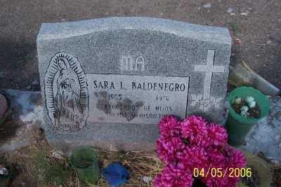 BALDENEGRO, SARA L. - Gila County, Arizona | SARA L. BALDENEGRO - Arizona Gravestone Photos