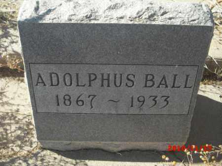 BALL, ADOLPHUS - Gila County, Arizona | ADOLPHUS BALL - Arizona Gravestone Photos