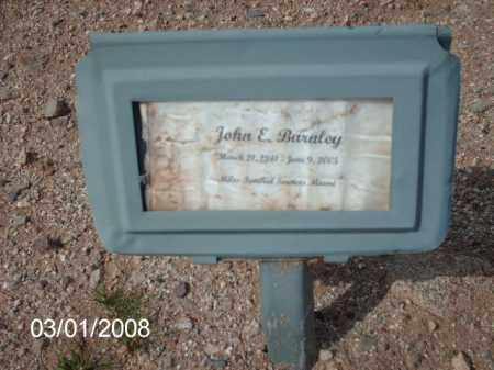 BARALEY, JOHN - Gila County, Arizona | JOHN BARALEY - Arizona Gravestone Photos