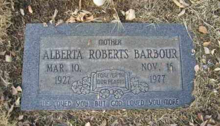 ROBERTS BARBOUR, ALBERTA - Gila County, Arizona | ALBERTA ROBERTS BARBOUR - Arizona Gravestone Photos