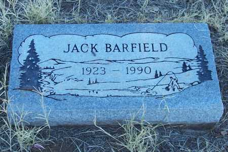 BARFIELD, JACK - Gila County, Arizona | JACK BARFIELD - Arizona Gravestone Photos