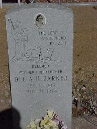 BARKER, DELLIA  H. - Gila County, Arizona | DELLIA  H. BARKER - Arizona Gravestone Photos