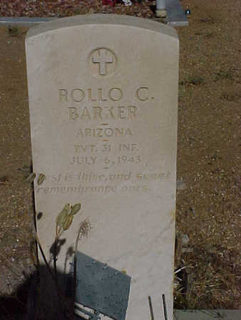 BARKER, ROLLO  CLARK - Gila County, Arizona   ROLLO  CLARK BARKER - Arizona Gravestone Photos