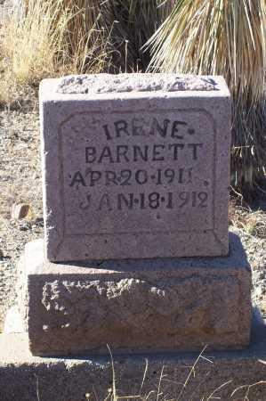 BARNETT, IRENE - Gila County, Arizona   IRENE BARNETT - Arizona Gravestone Photos