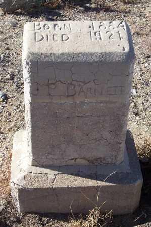BARNETT, J.P. - Gila County, Arizona | J.P. BARNETT - Arizona Gravestone Photos