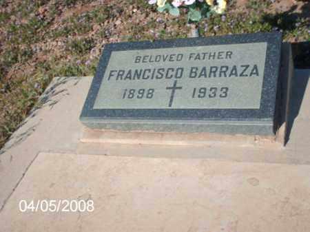 BARRAZA, FRANCISCO - Gila County, Arizona | FRANCISCO BARRAZA - Arizona Gravestone Photos