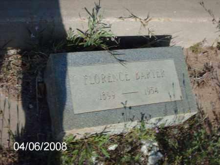 BARTER, FLORENCE - Gila County, Arizona | FLORENCE BARTER - Arizona Gravestone Photos