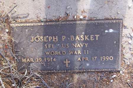 BASKET, JOSEPH P. - Gila County, Arizona   JOSEPH P. BASKET - Arizona Gravestone Photos