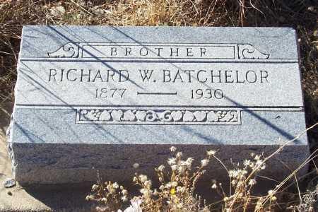 BATCHELOR, RICHARD W. - Gila County, Arizona   RICHARD W. BATCHELOR - Arizona Gravestone Photos