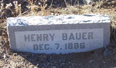 BAUER, HENRY - Gila County, Arizona | HENRY BAUER - Arizona Gravestone Photos