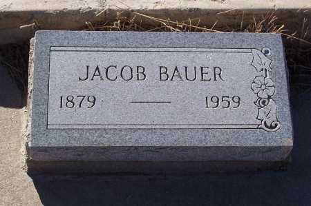 BAUER, JACOB - Gila County, Arizona | JACOB BAUER - Arizona Gravestone Photos